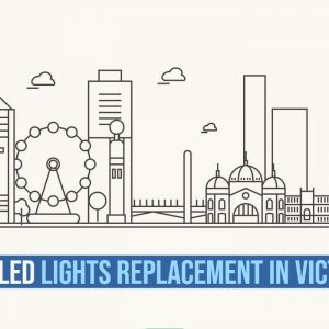 FREE LED lights in victoria infographic