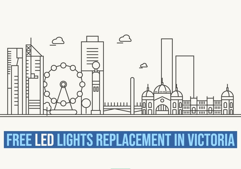 Free Energy Saving LED Light Bulbs Replacement By Government Of Victoria